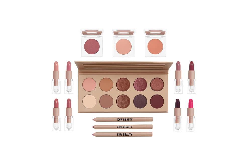 KKW Beauty Cherry Blossom Eyeshadow Lipstick Blush