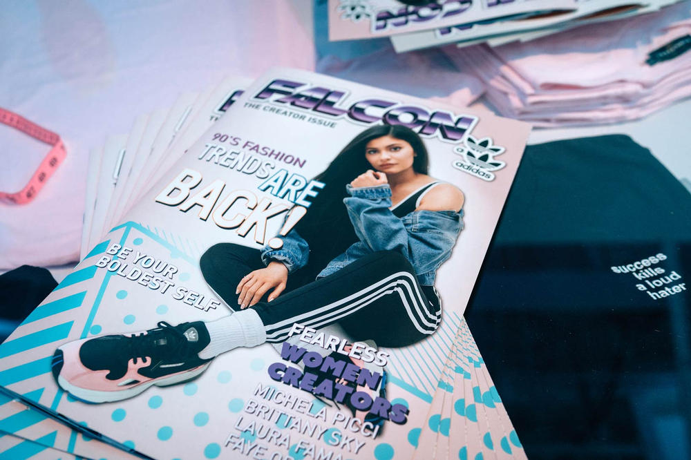 Kylie Jenner adidas Falcon Launch Party