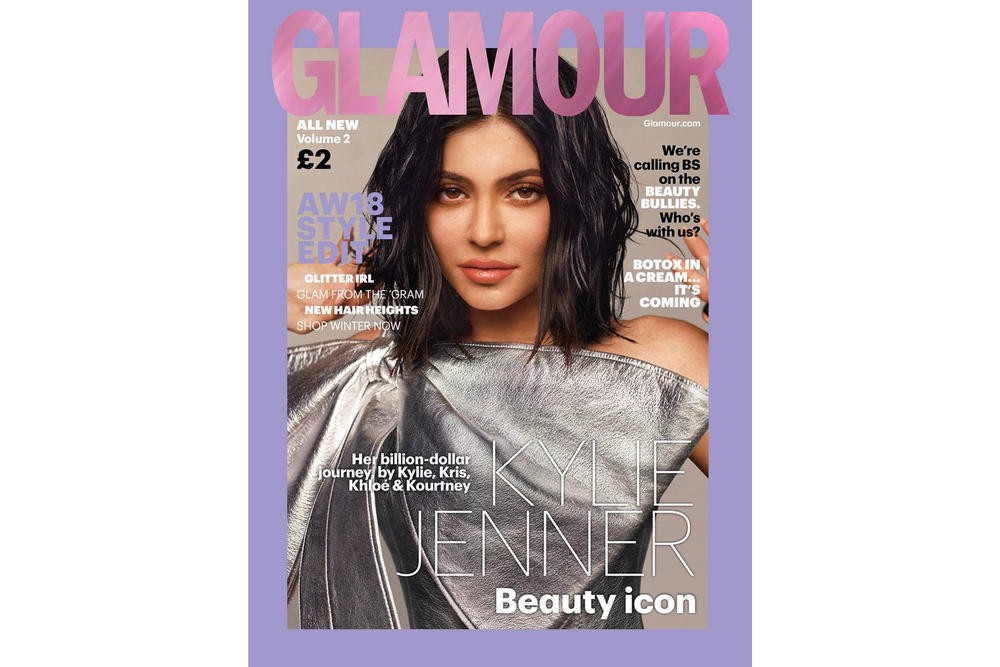 Kylie Jenner Cover Glamour Magazine UK Autumn Winter Issue 2018