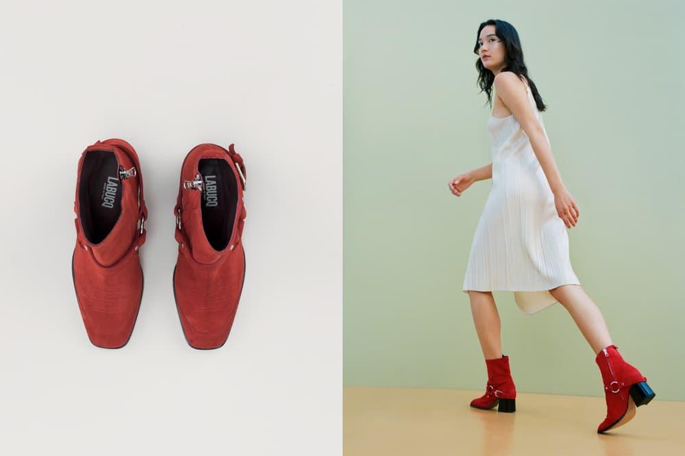 LABUCQ June Harness Boot Red
