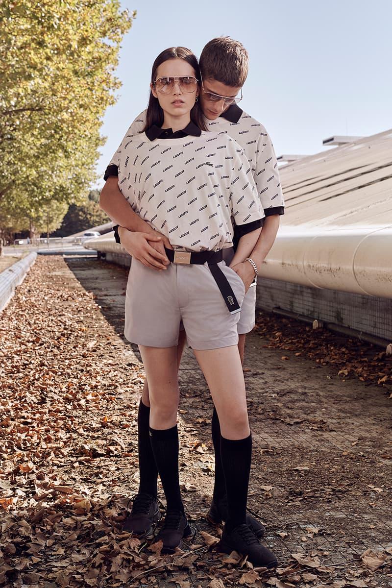 LACOSTE Spring/Summer 2019 Unisex Lookbook Craig McDean Polo Shirt