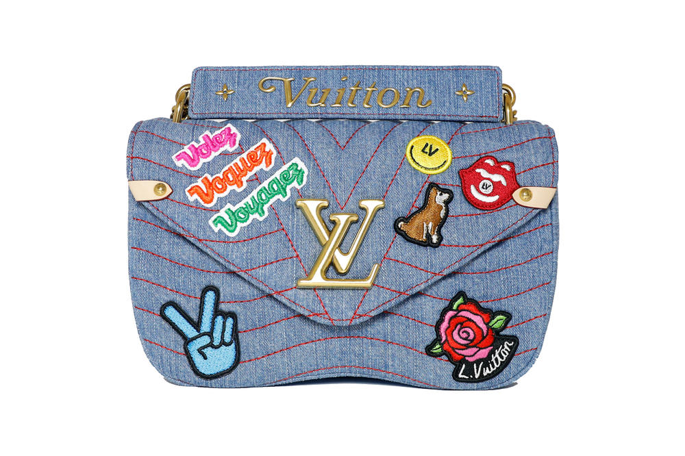 Louis Vuitton New Wave Bag Fall 2018 Collection Denim Patch
