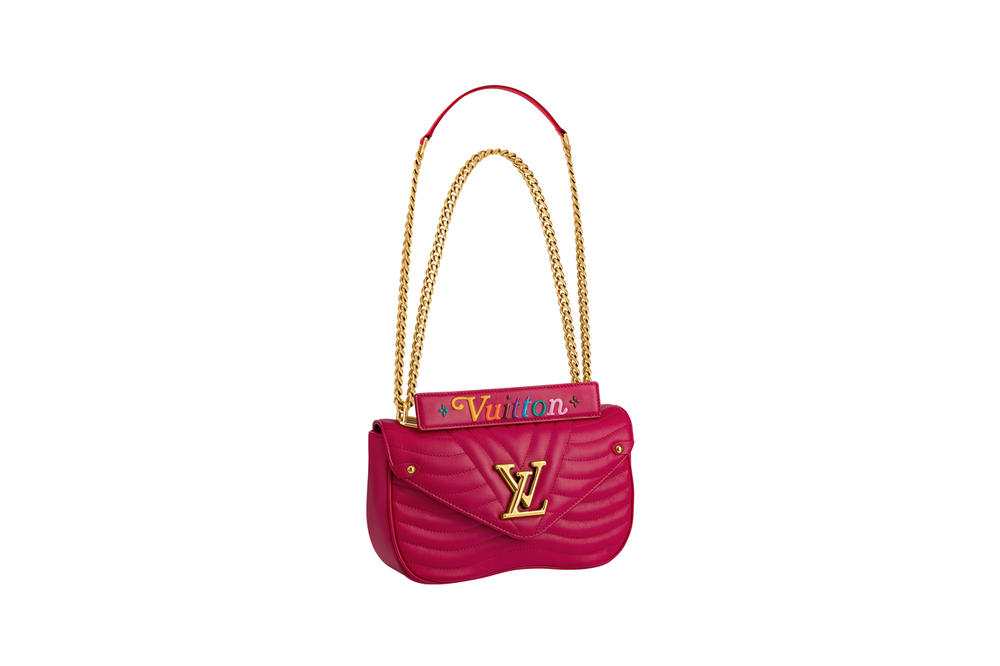 Louis Vuitton New Wave Bag Fall 2018 Collection Fuchsia