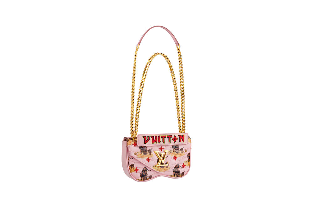 Louis Vuitton New Wave Bag Fall 2018 Collection Leopard Pink