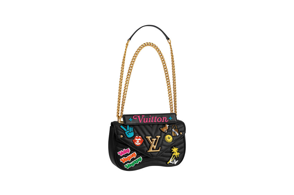 Louis Vuitton New Wave Bag Fall 2018 Collection Black Patch