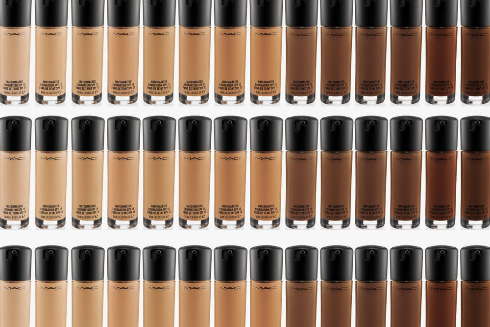 MAC Cosmetics Studio Fix Foundation Shade Range