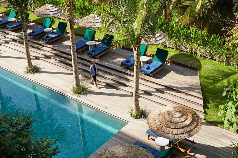 Katamama Bali Indonesia Hotel Resort Swimming Pool Bathroom Bathtub Travel