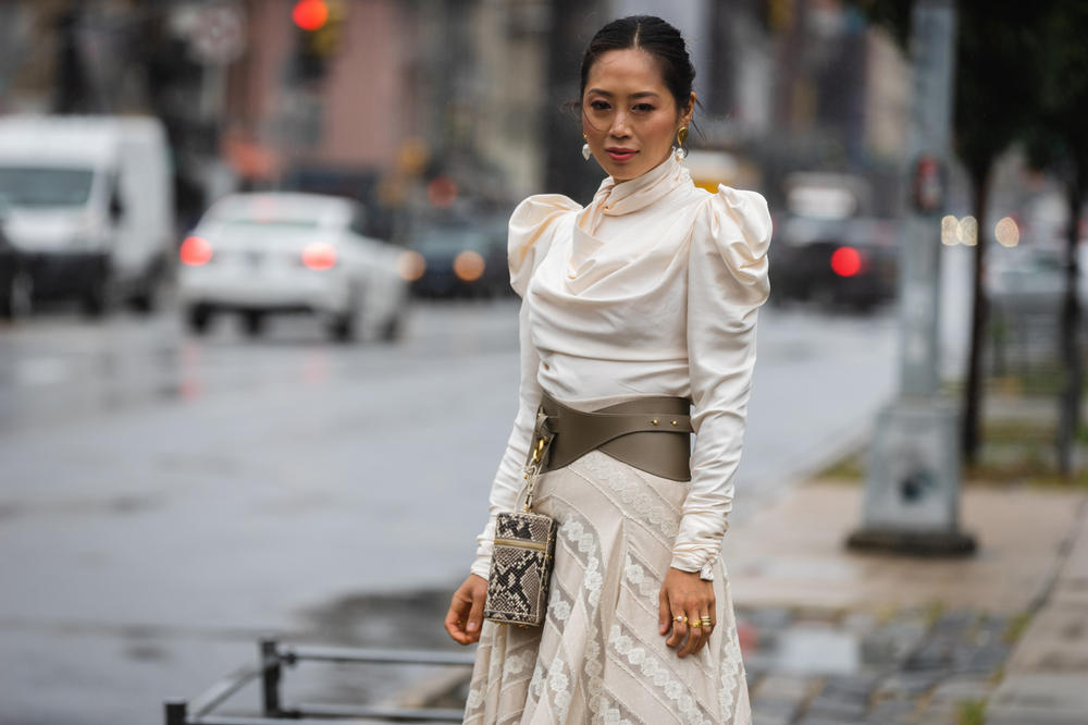 New York Fashion Week NYFW Street Style Street Snaps Aimee Song