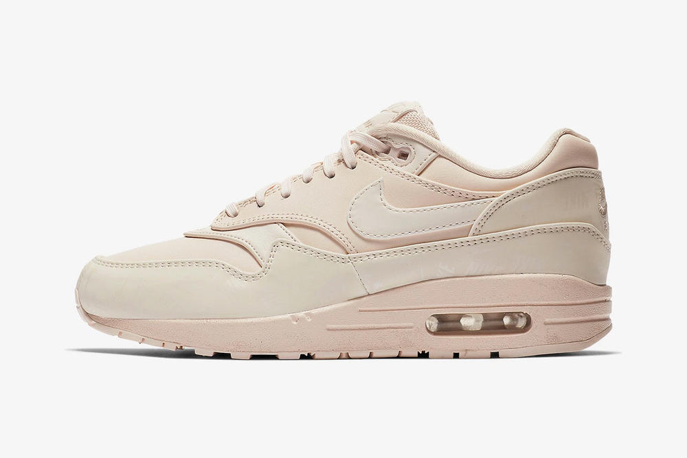 nike air max 1 lx guava ice leather pastel pink peach efd9f8d1c