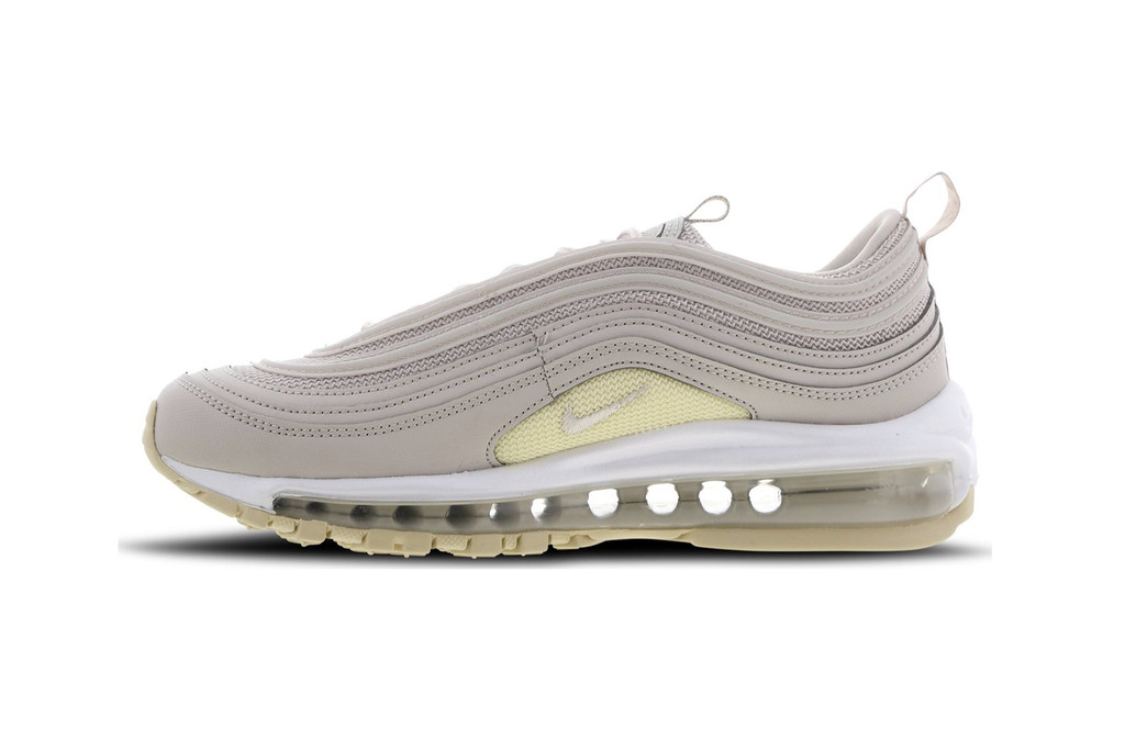 low priced e8770 1e9a3 Nike s Air Max 97 Iridescent in White   Blue   HYPEBAE