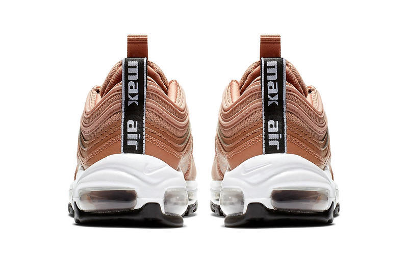 Nike Air Max 97 Tan Logo Mini Swoosh