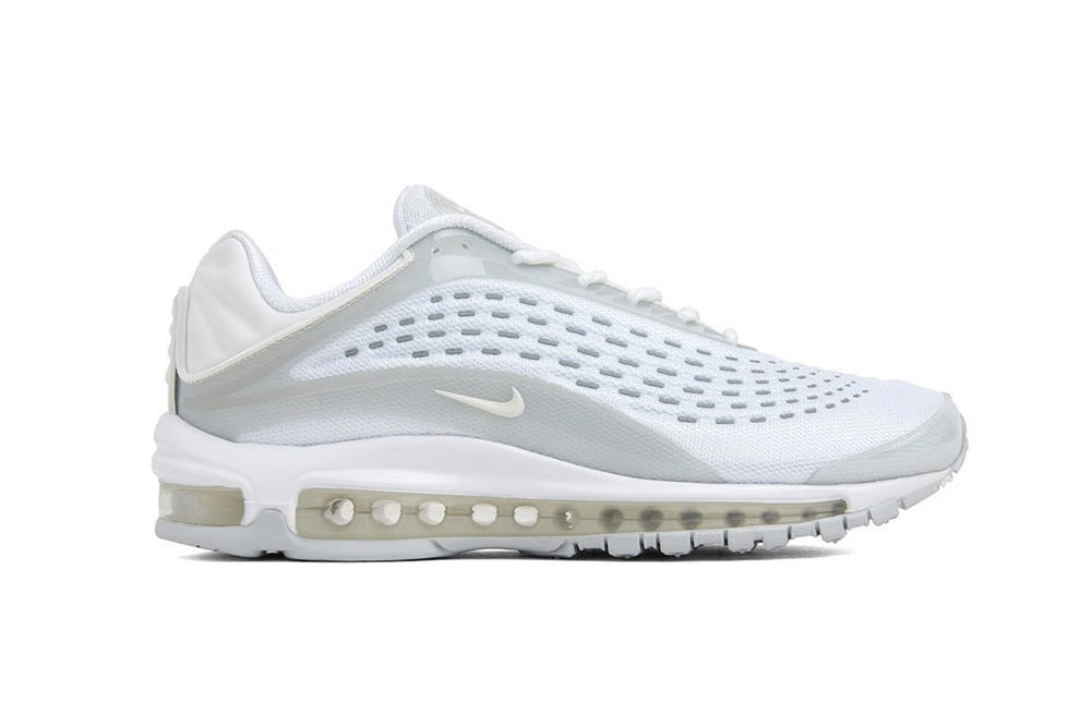 Nike Air Max Deluxe White/Sail/Pure Platinum Sneaker Colorway Shoe Drop Clean White Trainer
