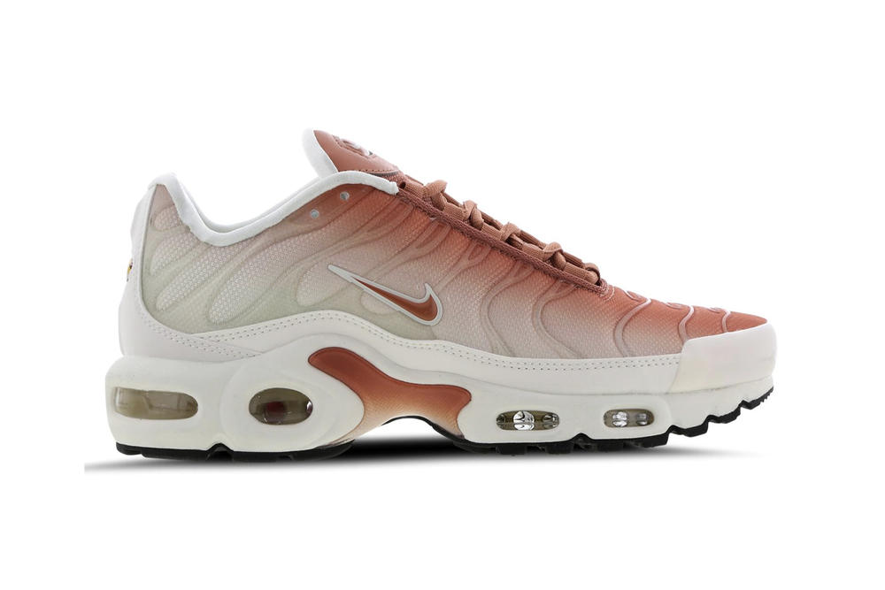 online store 7b6af 678dc Nike Air Max Plus Ombré Orange White Black Purple Gradient Women s Sneakers