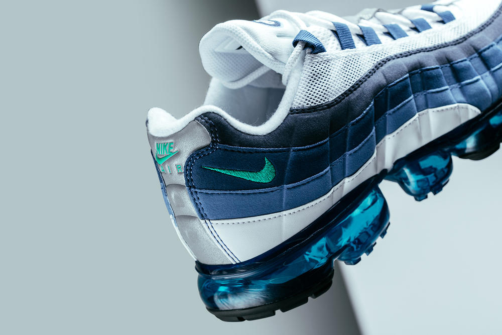 Nike Air VaporMax 95 White French Blue