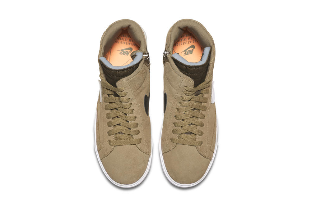 John Elliott Nike Blazer Mid Rebel Collaboration New York Fashion Week