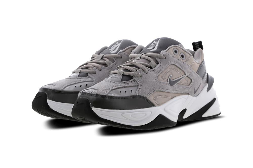 Nike M2K Tekno Chunky Sneaker Atmosphere Grey Black White