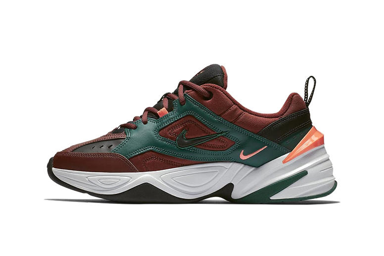 Nike M2K Tekno Gets Fall Ready in Mahogany Mink Sneaker Shoe