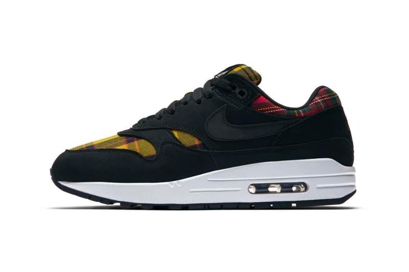 new arrival d112c b4fa5 ... Nike Yellow Red Tartan Air Max 1 ...