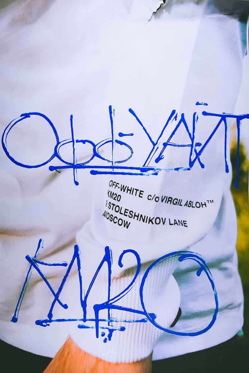 Off-White x KM20 Long Sleeve T-shirt White