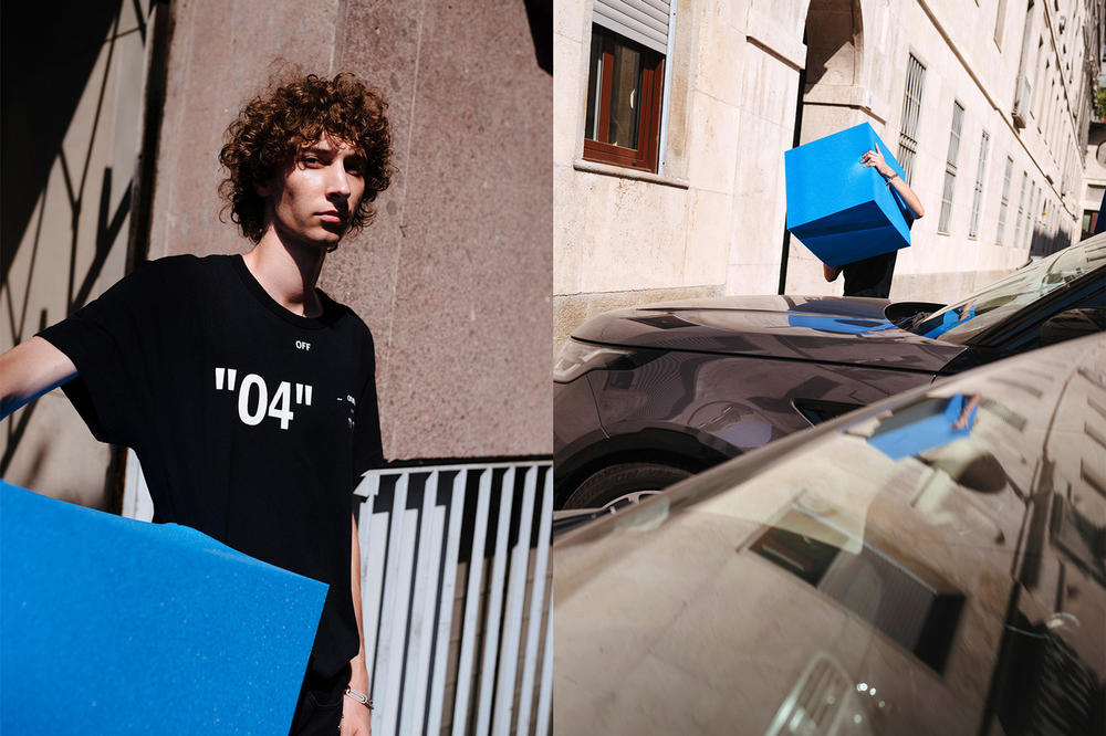 Off-White For All Collection Second Lookbook Number T-shirt Black