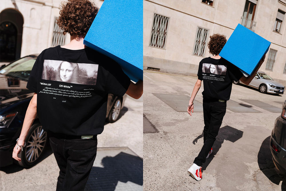 Off-White For All Collection Second Lookbook Mona Lisa T-shirt Black