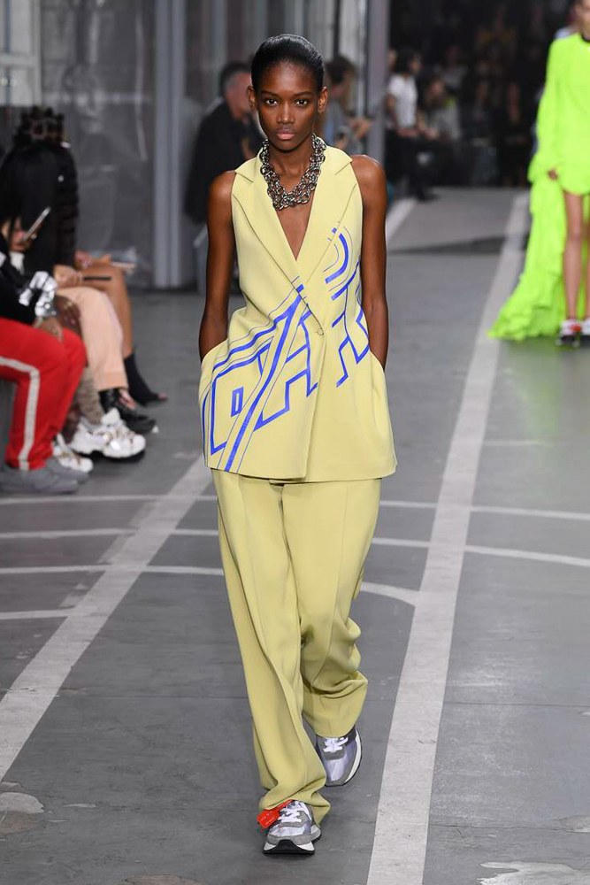 Off-White Virgil Abloh SS19 Runway Show Paris Fashion Week Track and Field