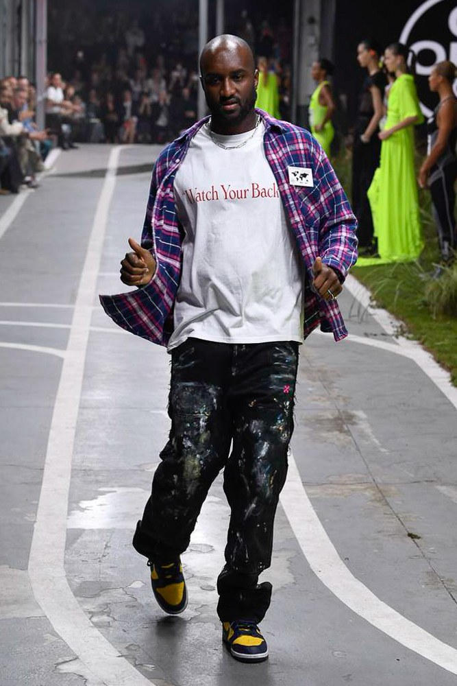 Off-White Virgil Abloh SS19 Runway Show Paris Fashion Week Track and Field Virgil Abloh