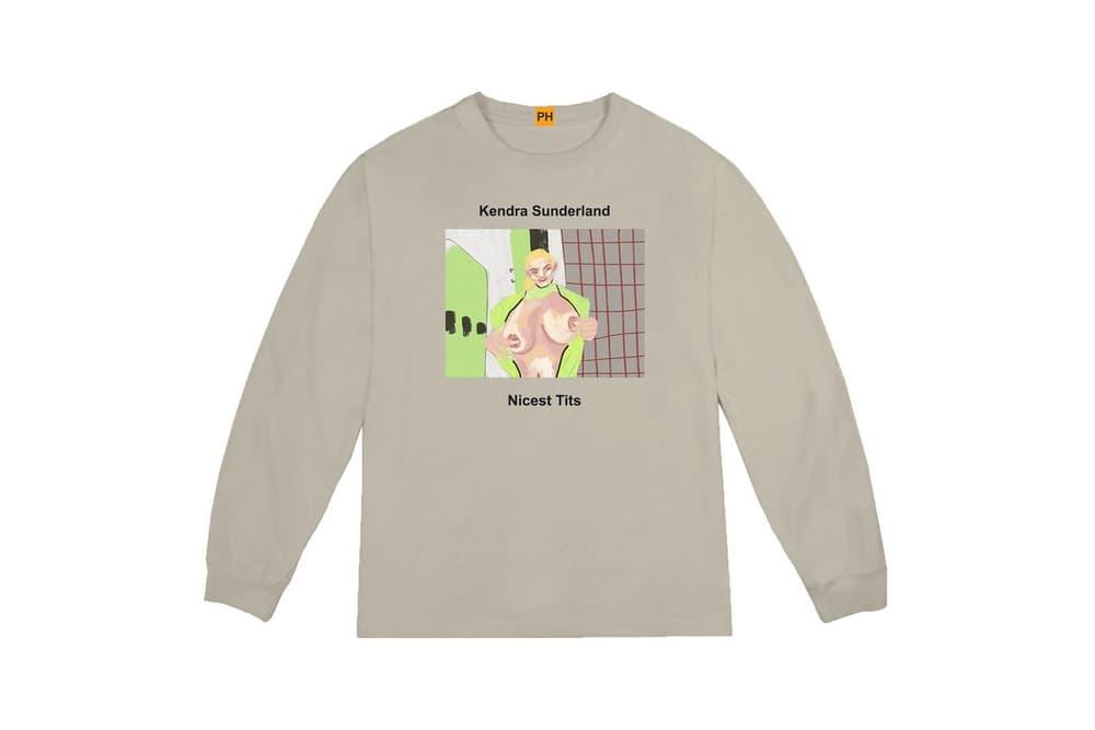 Pornhub YEEZY Kanye West Kendra Sunderland Long Sleeve Shirt Collaboration Capsule Collection