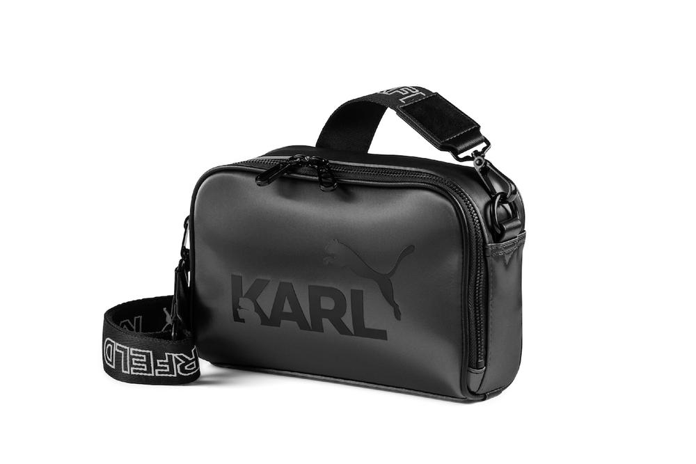 Karl Lagerfeld x PUMA Capsule Collection Apparel Sneaker PUMA Suede Bags Logo Accessory