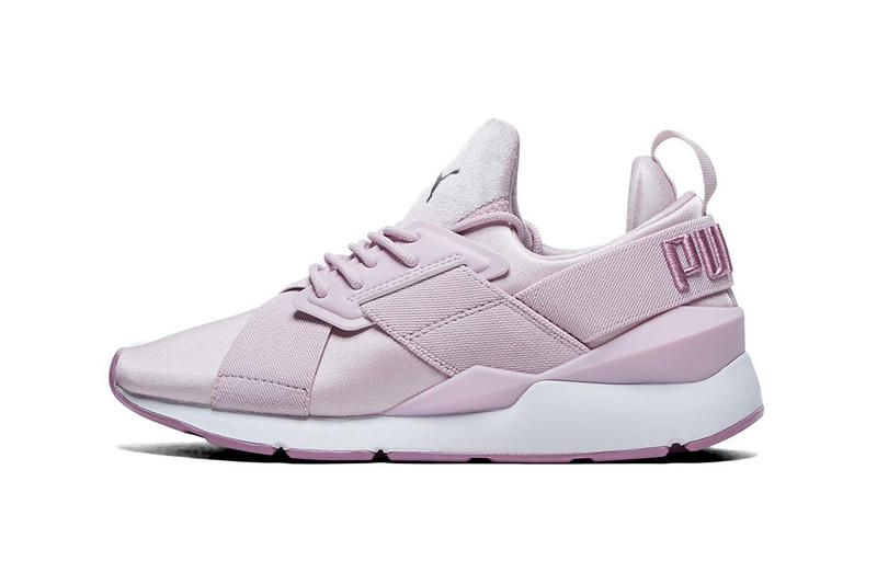 PUMA Muse Maia Satin Sneakers Winsome Orchid Pink