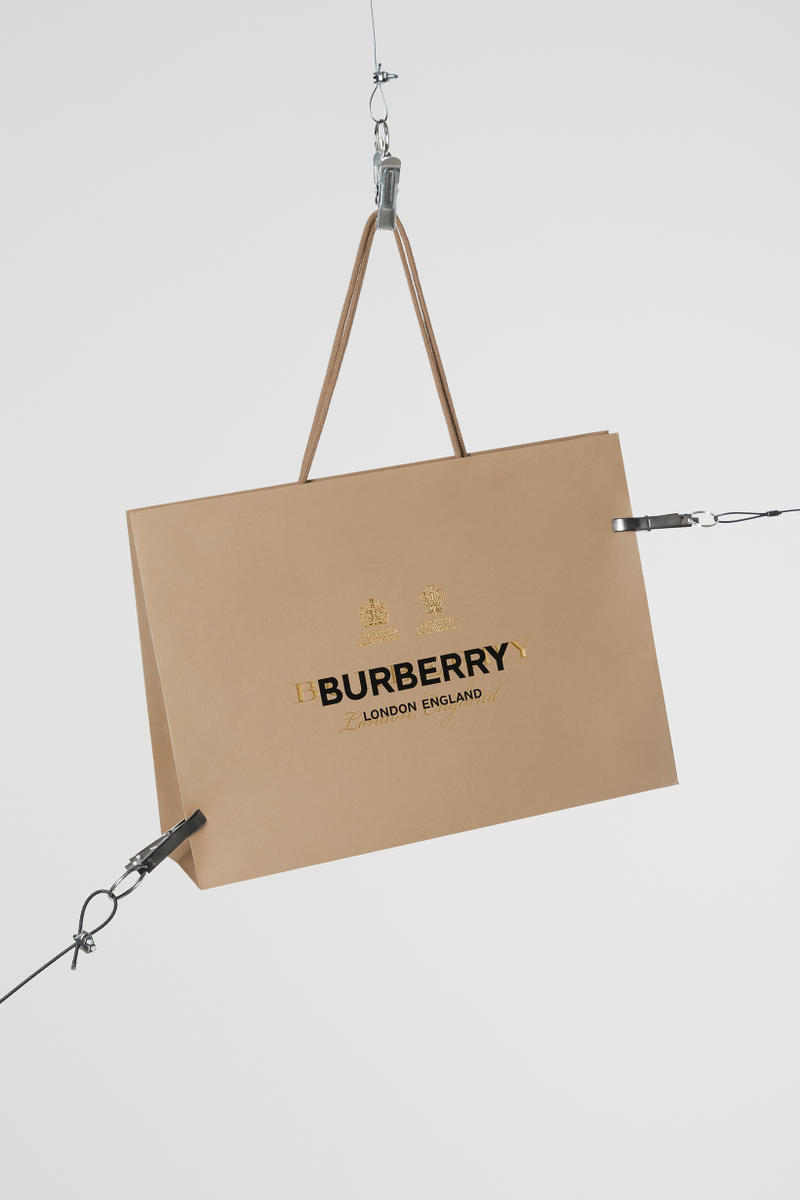 Burberry Paper Bag London