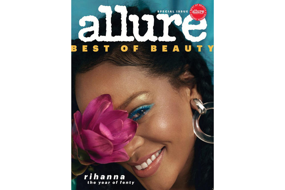 Rihanna Allure Best of Beauty Cover 2018 Issue