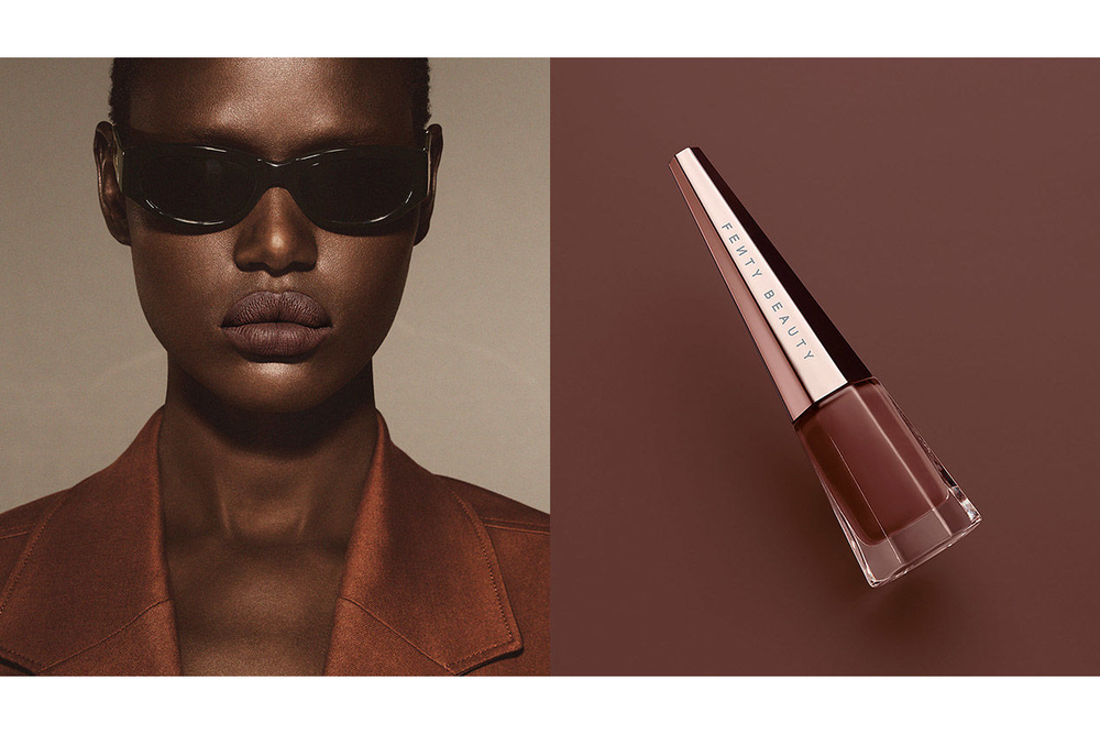 Fenty Beauty Stunna Lip Paint Unveil Chocolate Brown