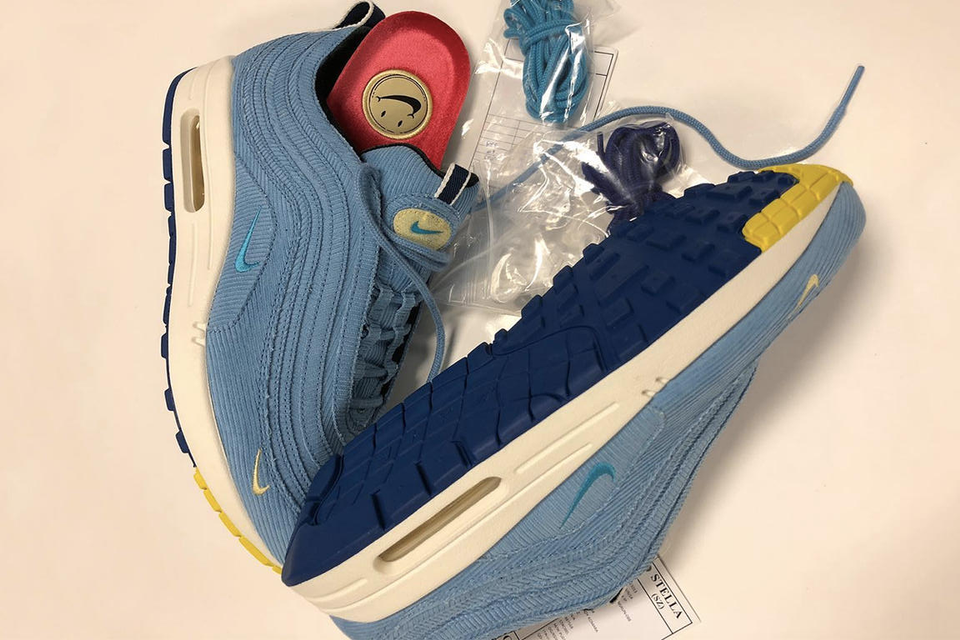 b2bc56fa2a Sean Wotherspoon x Nike Air Max 1/97 in Blue | HYPEBAE
