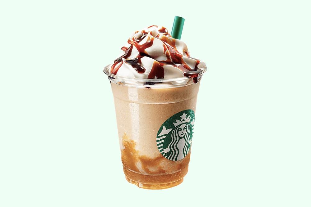 Starbucks Japan Caramelly Pear Frappuccino Iced Hot Tea Latte Fall Autumn 2018