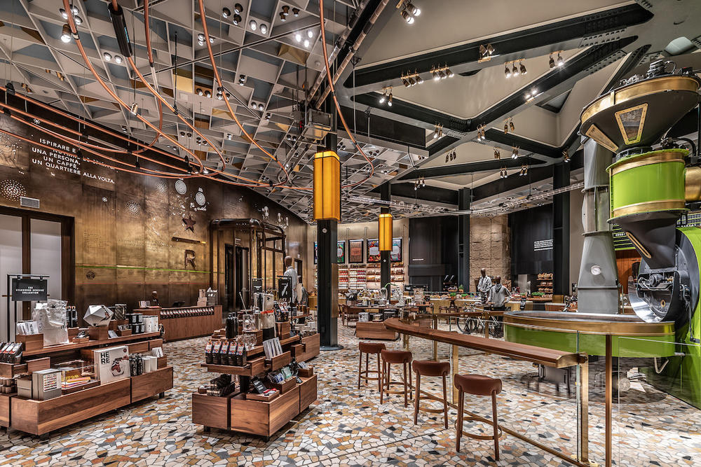 Starbucks Reserve Roastery Milan Italy Coffee