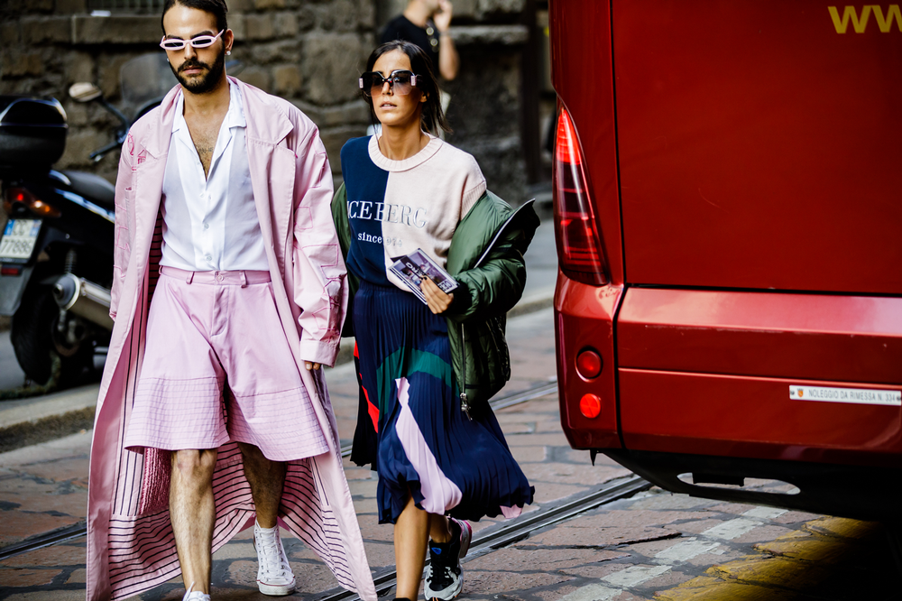 Milan Fashion Week Spring Summer 2019 Women Street Style