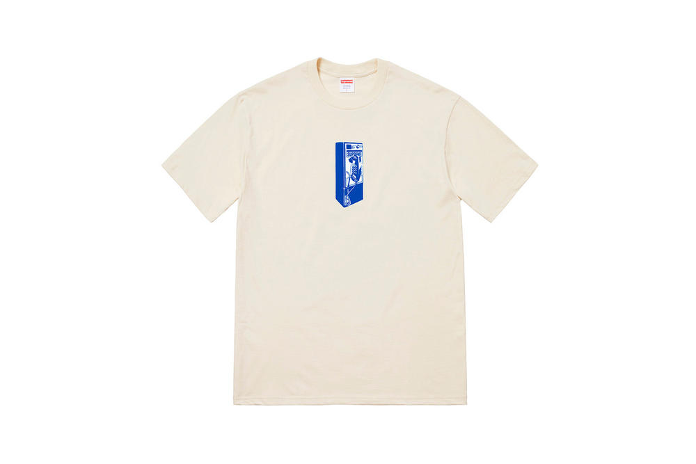 Supreme Fall 2018 Tabboo! T-Shirt Tees Cream