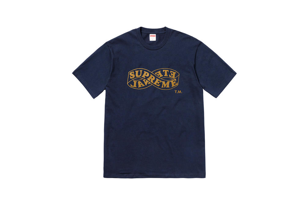 Supreme Fall 2018 Tabboo! T-Shirt Tees Navy