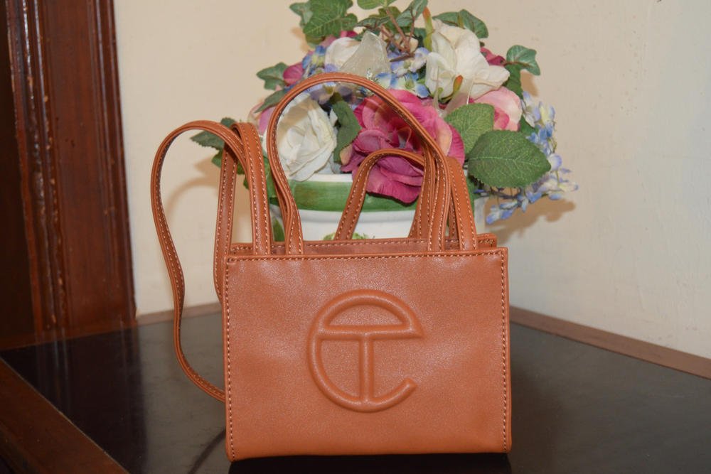 Telfar Small Shopping Bag Tan