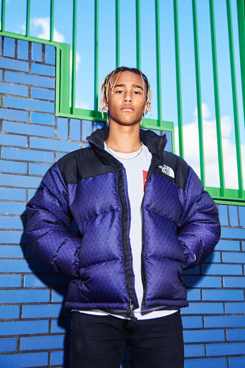 The North Face TNF CMYK Collection Outerwear Color Jacket Fashion Lookbook