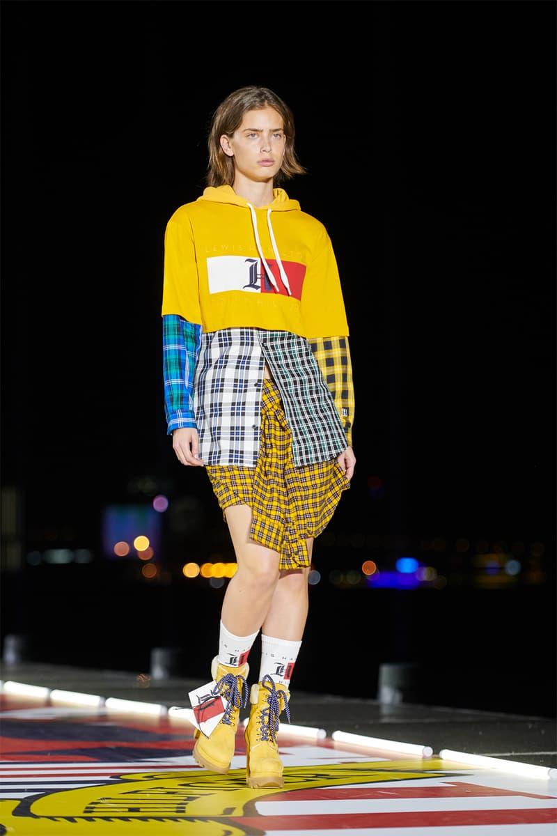 Tommy Hilfiger TommyNow Shanghai Runway Fashion Show Winnie Harlow Hailey Baldwin Josephine Skriver Lewis Hamilton