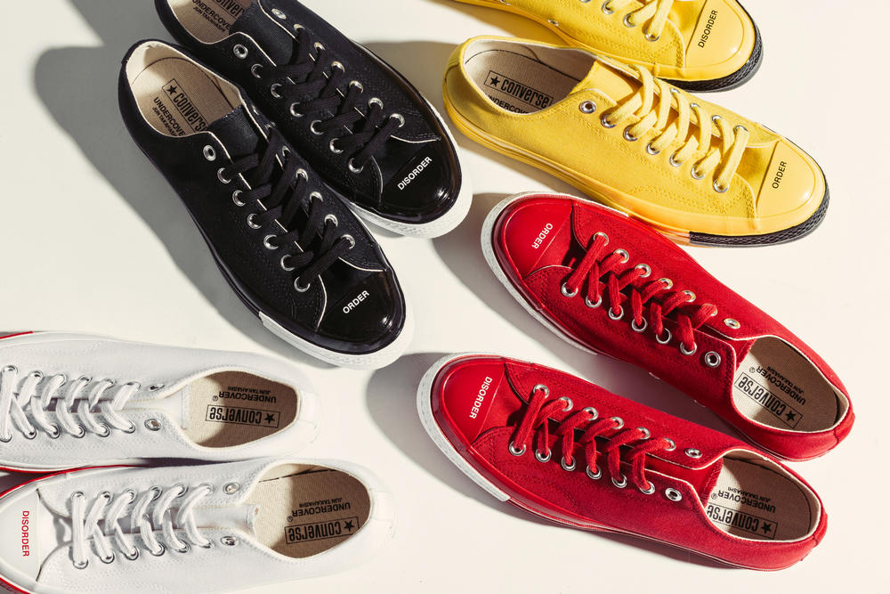 undercover converse chuck taylor all star 70 low jun takahashi