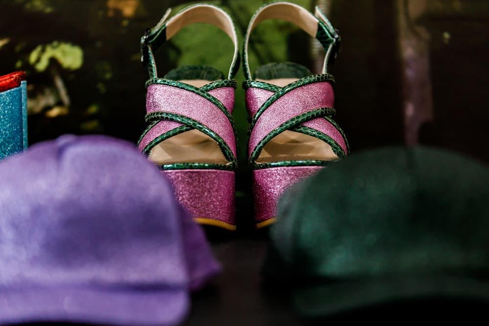Undercover Jun Takahashi Spring Summer 2019 SS19 Womens THE SEVENTH SENSE Caps Hats Heels Platform