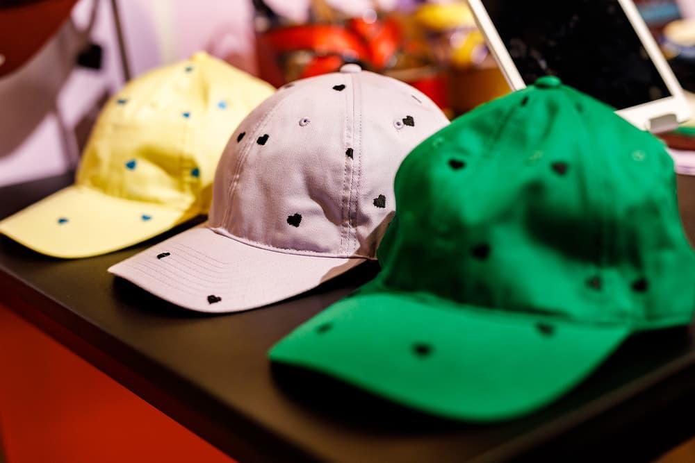 Undercover Jun Takahashi Spring Summer 2019 SS19 Womens THE SEVENTH SENSE Hearts Cap Hat
