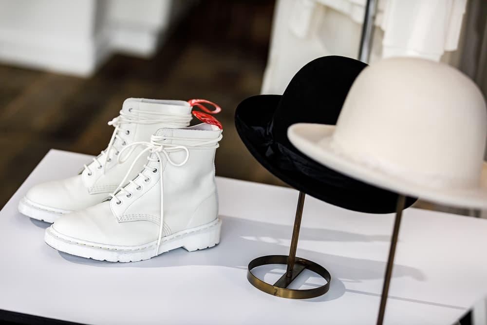 Undercover Jun Takahashi Spring Summer 2019 SS19 Womens THE SEVENTH SENSE Clockwork Orange White Dr Martens Hat