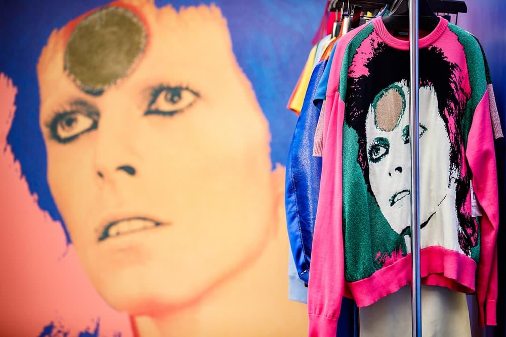 Undercover Jun Takahashi Spring Summer 2019 SS19 Womens THE SEVENTH SENSE David Bowie Sweater