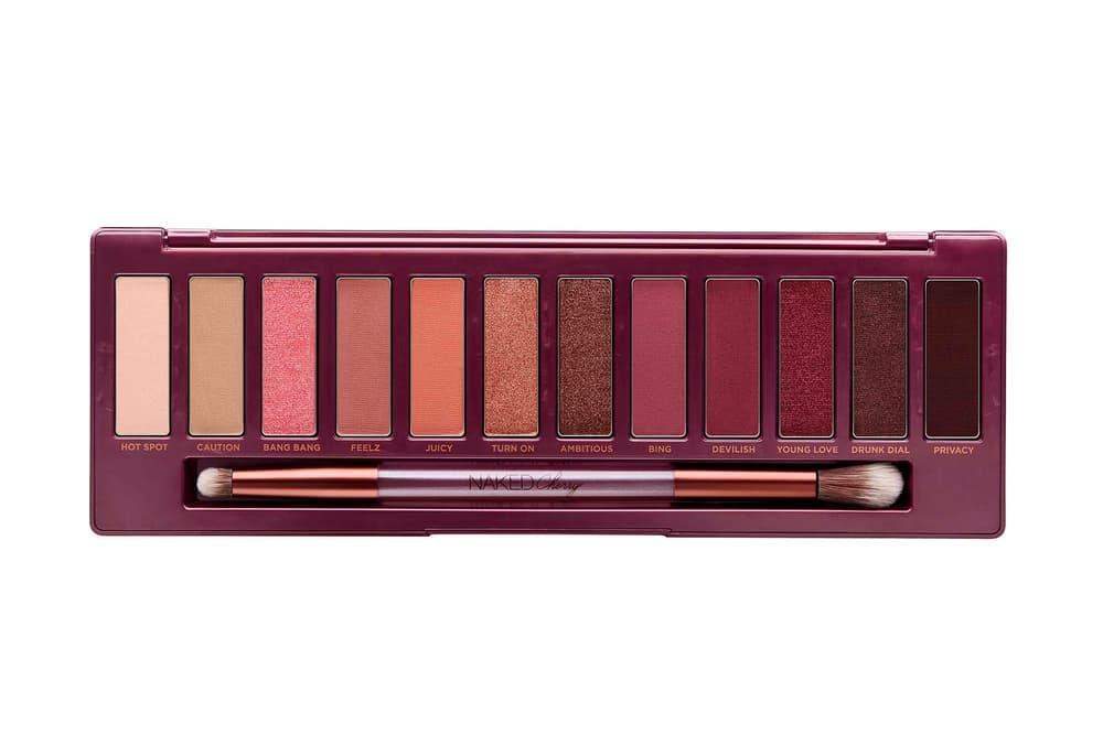Urban Decay Naked Cherry Eyeshadow Palette Shades Brush