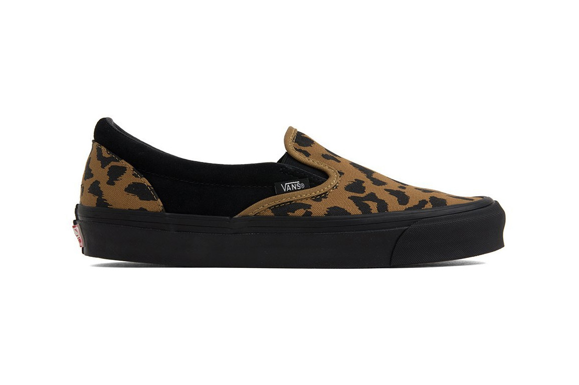 Vans Vault Leopard Print Slip-On