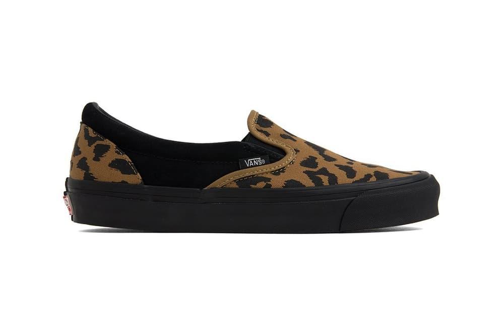 Vans Vault Leopard Print OG Slip-On Authentic LX f2ca544e4